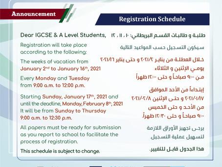 Dear IGCSE & A Level students.