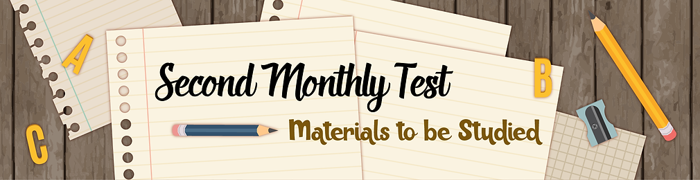 2nd Materials to be Studied_Header.png