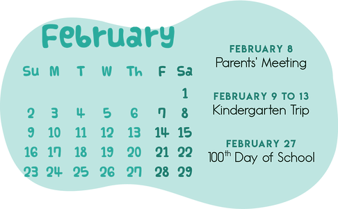 School Calendar of Activities_KG 6Februa