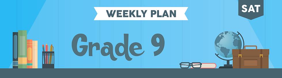 Weekly Plan Class Headers 2_Gr 9  SAT.pn