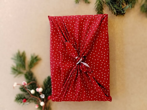 Furoshiki Noël rouge