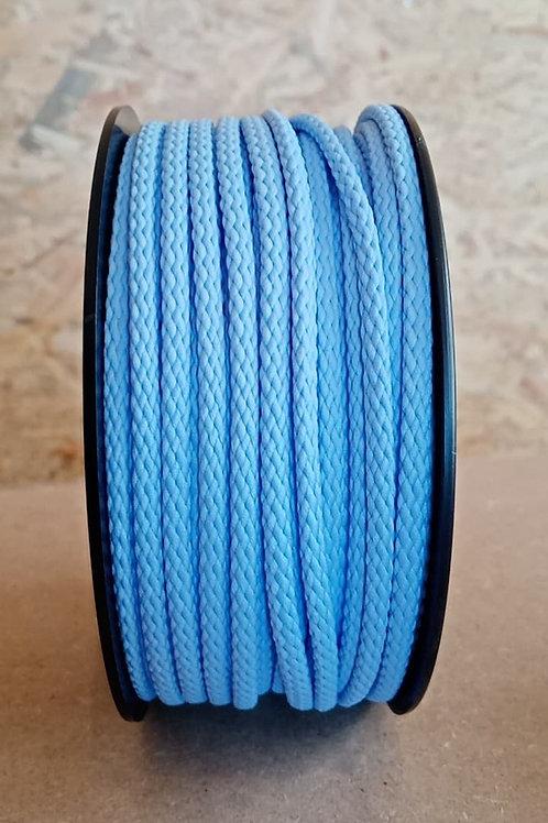 Cordon 5 mm bleu clair