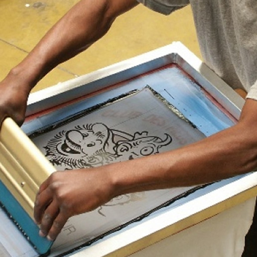 STAGE impression textile