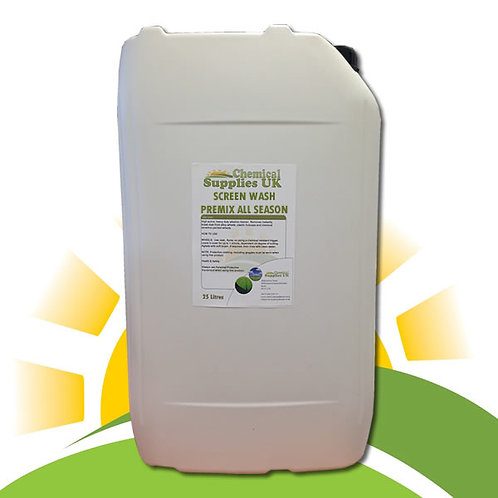 Screen Wash Concentrated - Summer & Winter De-Icer -4°C