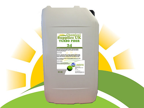 TurboPhor 24 - Powerful Terminal Disinfectant for Buildings and Equipment