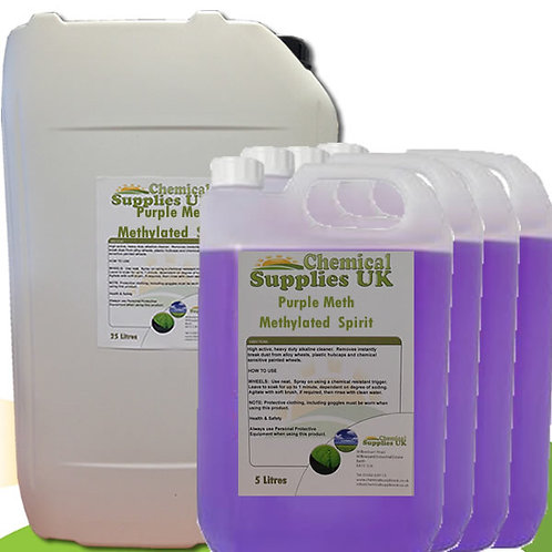 Mineralised Methylated Spirit- MMS - Purple Meths