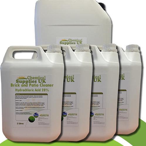Hydrochloric Acid 28% - Brick & Patio Cleaner