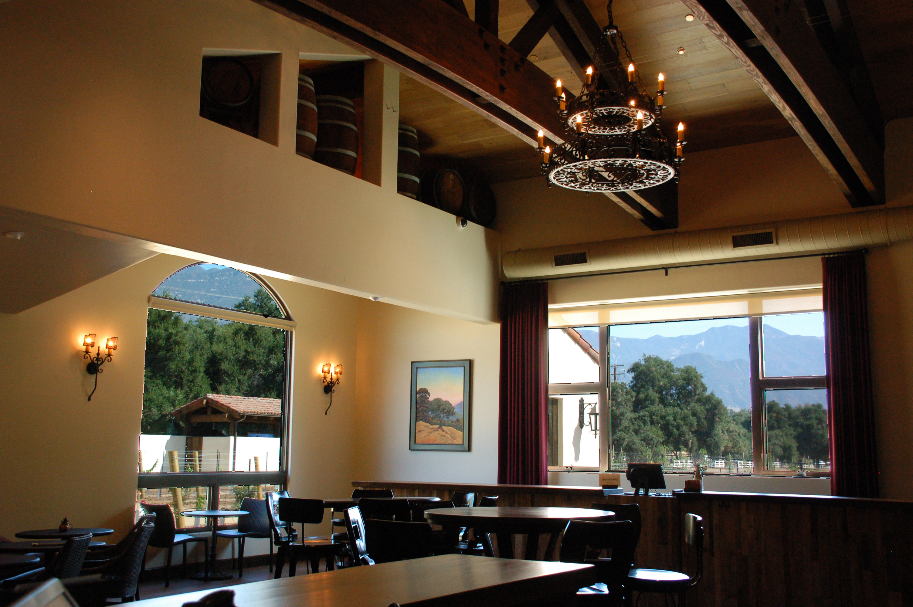 Winery Interior Ceiling