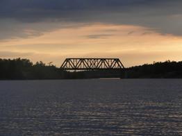 Train Bridge & Hwy 69