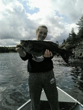 Hailey 6lbs Small Mouth Bass