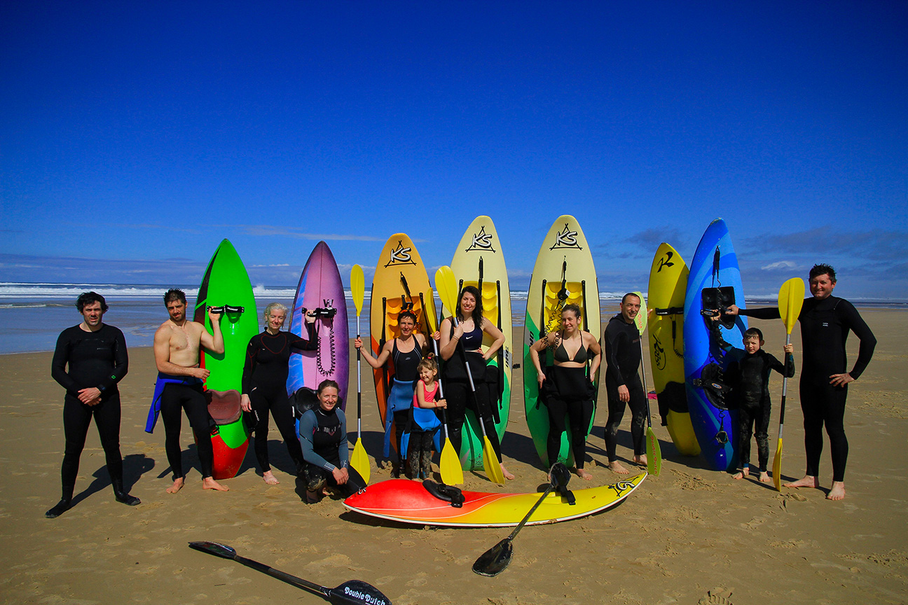 Groupe sport glisse Mimizan