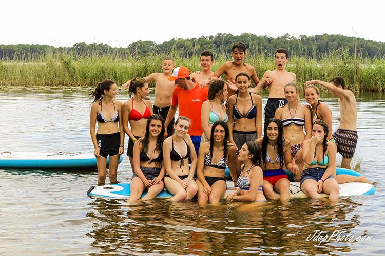 Groupe ado paddle