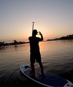 Stand Up Paddle lac Aureilhan