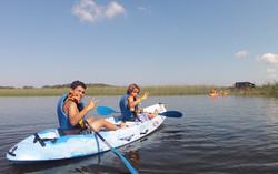 Canoë lac