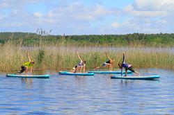 SUP Yoga sur lac