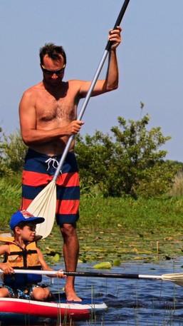 SUP Stand-Up Paddle à Mimizan et Aureilhan sur le lac