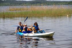 Canoë lac Aureilhan