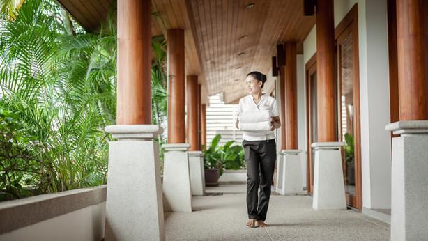 Shambala Phuket - Dedicated staff attend