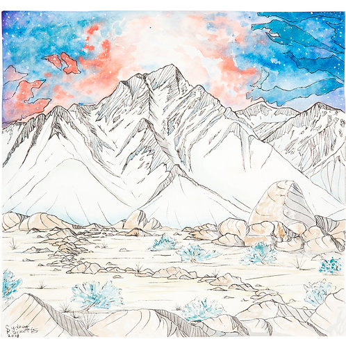 EASTERN SIERRAS ORIGINAL PAINTING