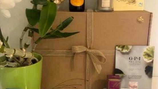 Unwind and Be Kind Treat box
