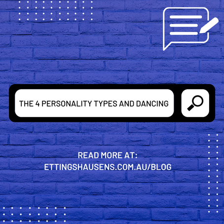 The 4 Personality Types and Dancing