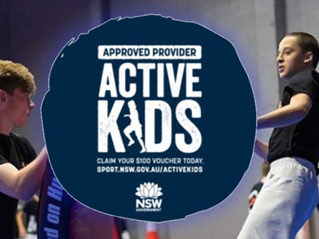 Active Kids Vouchers Term 1 2020