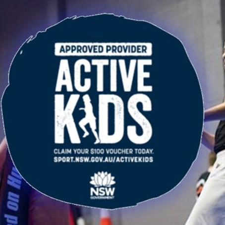 Active Kids Vouchers Term 1 2020