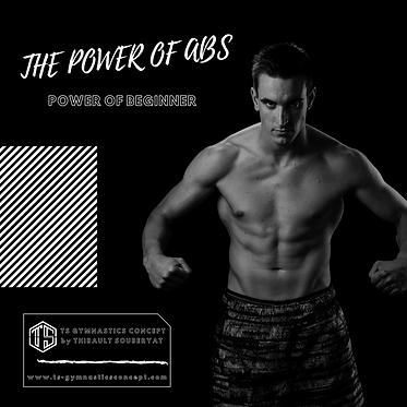 "E-BOOK CORE & ABS  "" THE POWER OF BEGINNER """