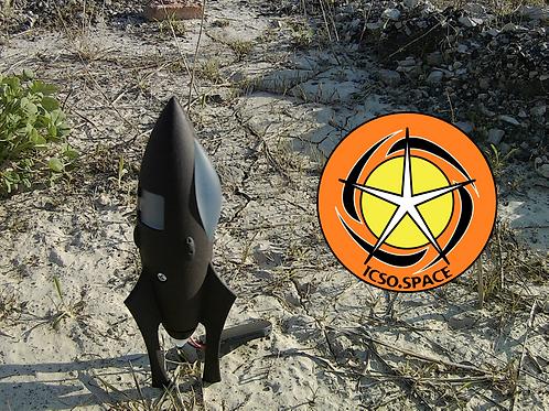 StarDust Mark I 1/200 Scale Toy Model Rocket STL files