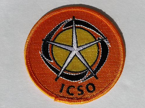 Embroidery ICSO Logo Patch