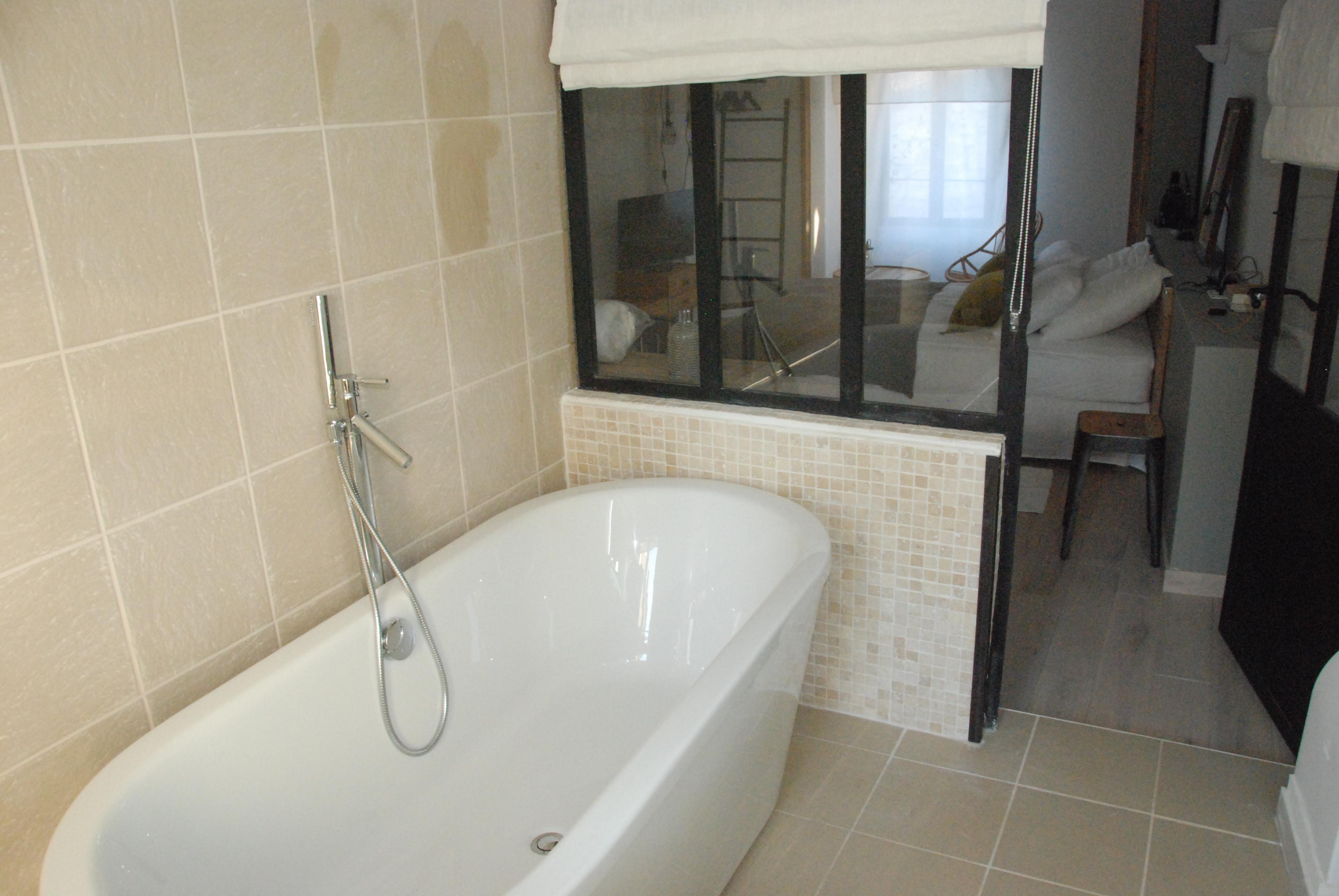 chambre 1 - baignoire