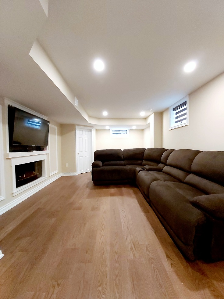 Basement Renovation Waterdown