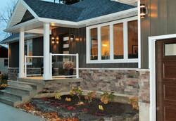 Exterior Brick Veneer & Siding