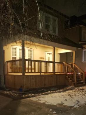 After, Hamilton Front Porch Repair