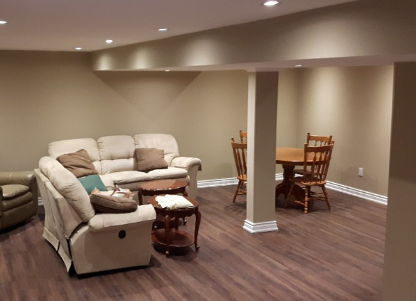 Basement Renovation Beamsville