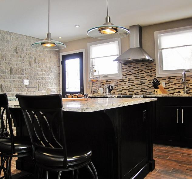 Kitchen Island Renovation Hamilton