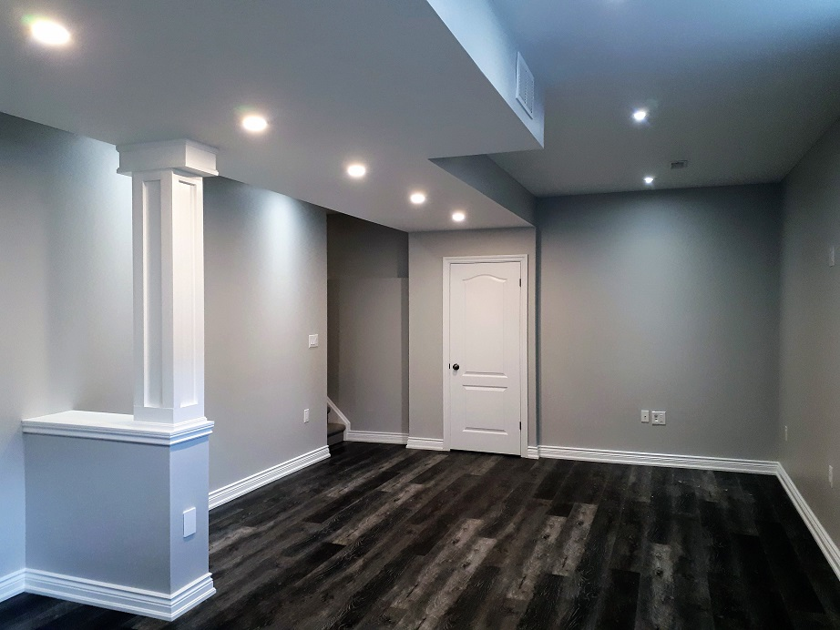 Basement Renovation Binbrook