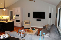 Open-concept Living Room and Kitchen