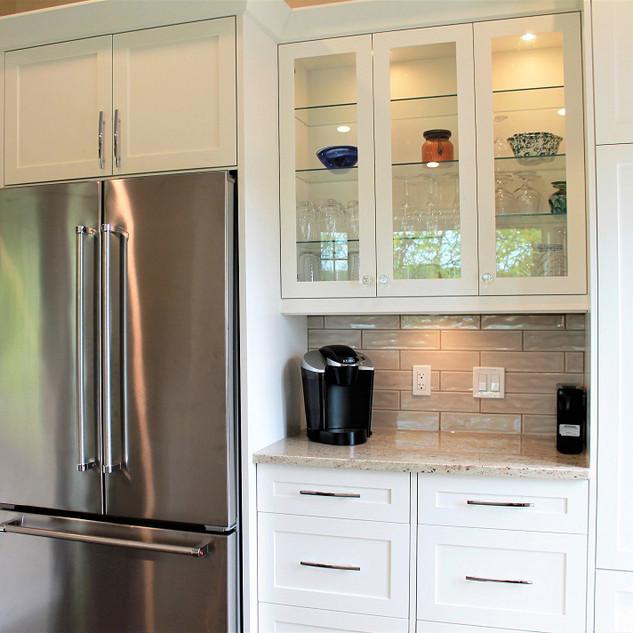 Hamilton Kitchen Renovation White Cabine
