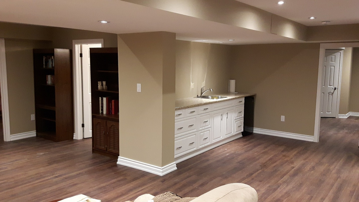 Basement Renovation Beamsville Ontario
