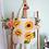 Thumbnail: Handpainted SunflowerTote