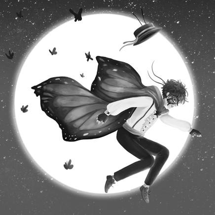 Butterfly Bandit Character Spot