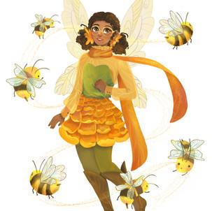 Bumble Bee Fairy