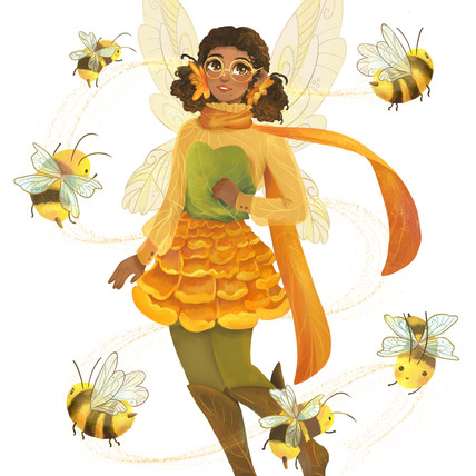 Bumble Bee Fairy
