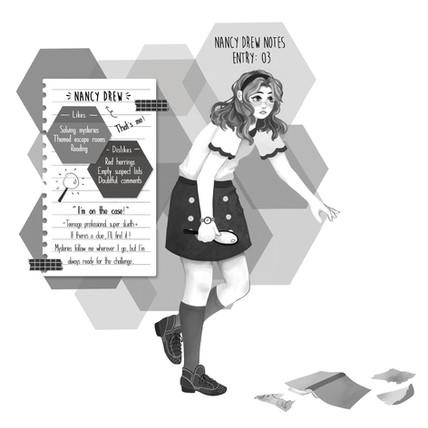 Nancy Drew Notes- Nancy