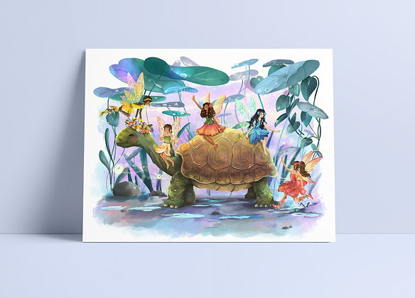 Turtle Bus Print