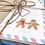 Thumbnail: Gingerbread Stationery Set