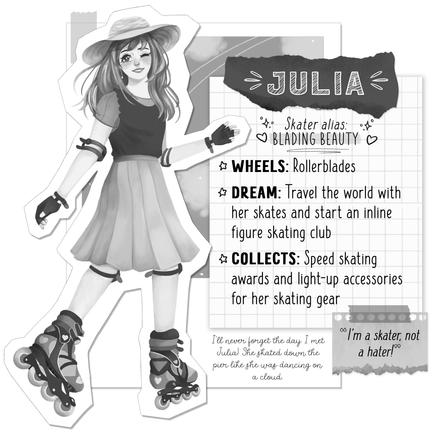 Skater's Gonna Skate-Julia