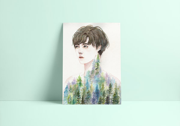 Reforestation Print