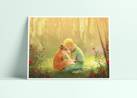 The Little Prince Print